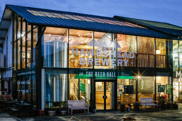 The Hawkshead Brewery Beer Hall in Staveley