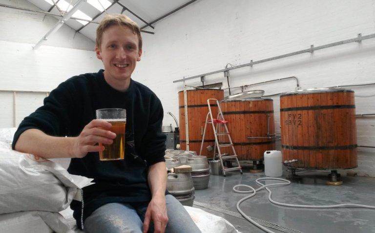 Tim Chadwick of Chadwick's Brewery