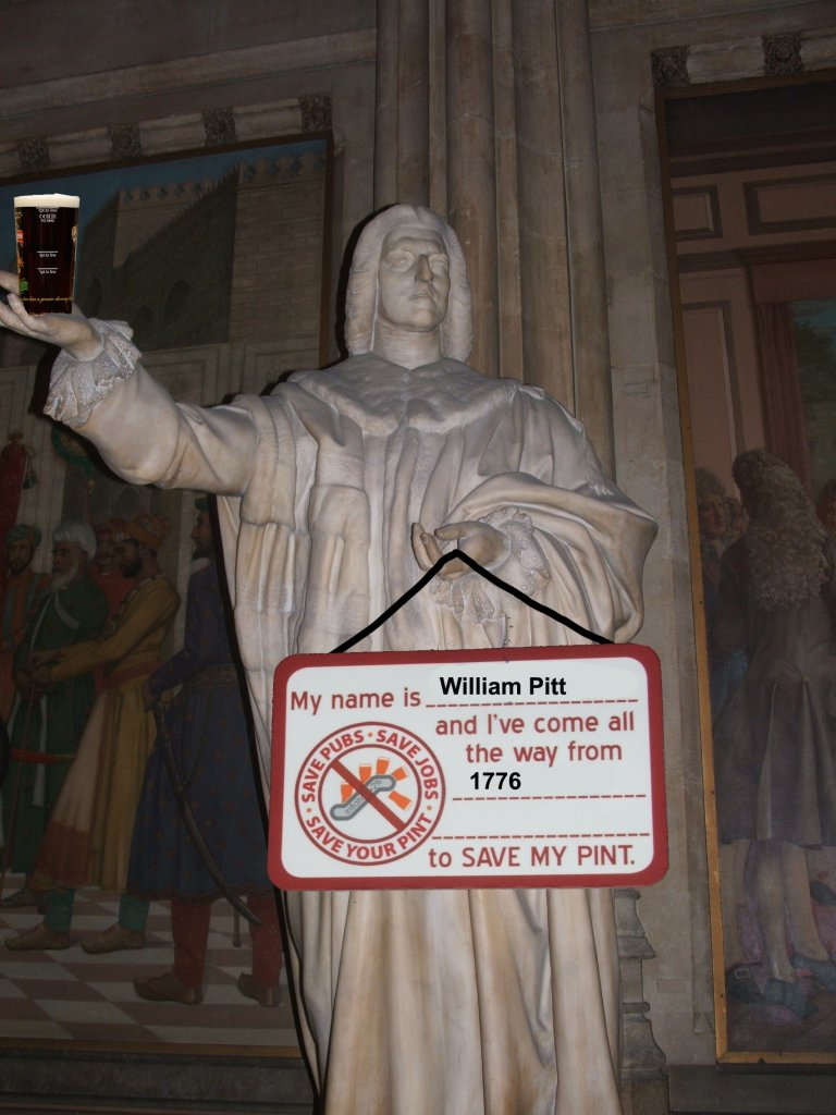 William Pitt the Elder gets into the swing of things.